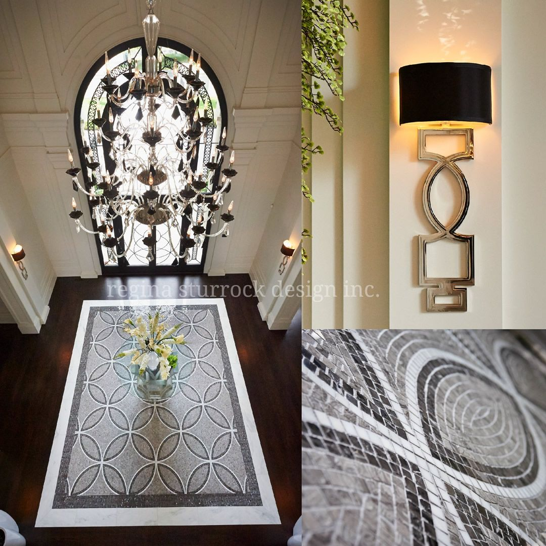 Regina Sturrock Design Inc burlington interior design project: contemporary classicism