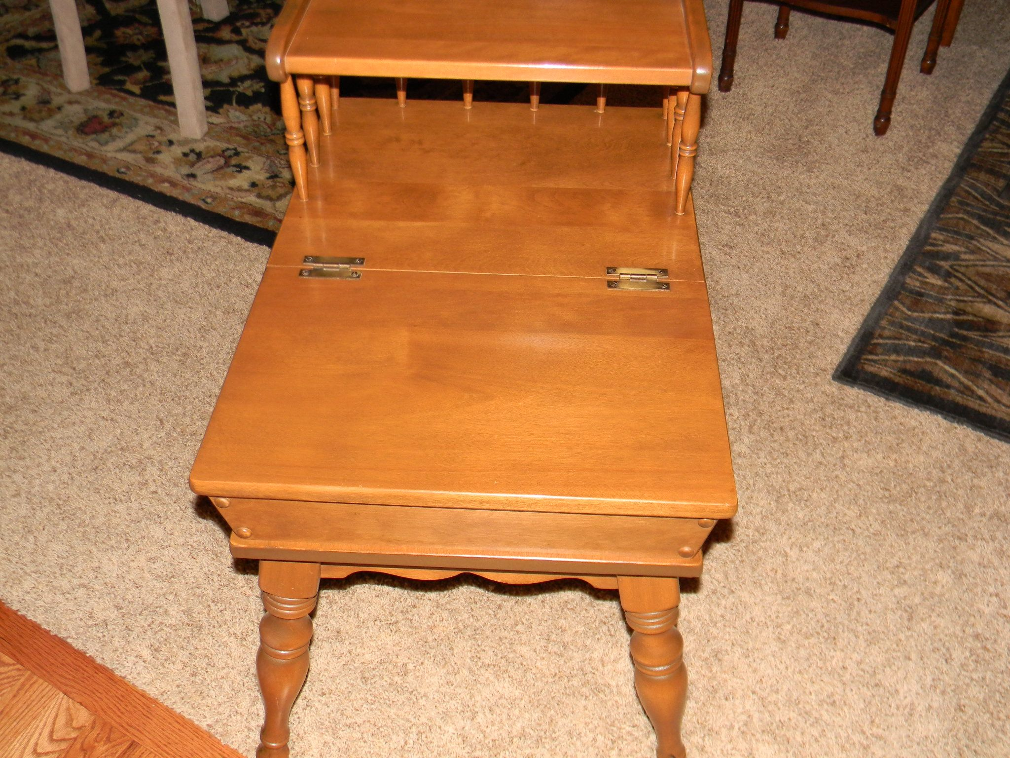 ethan allen furniture maple 1960 s