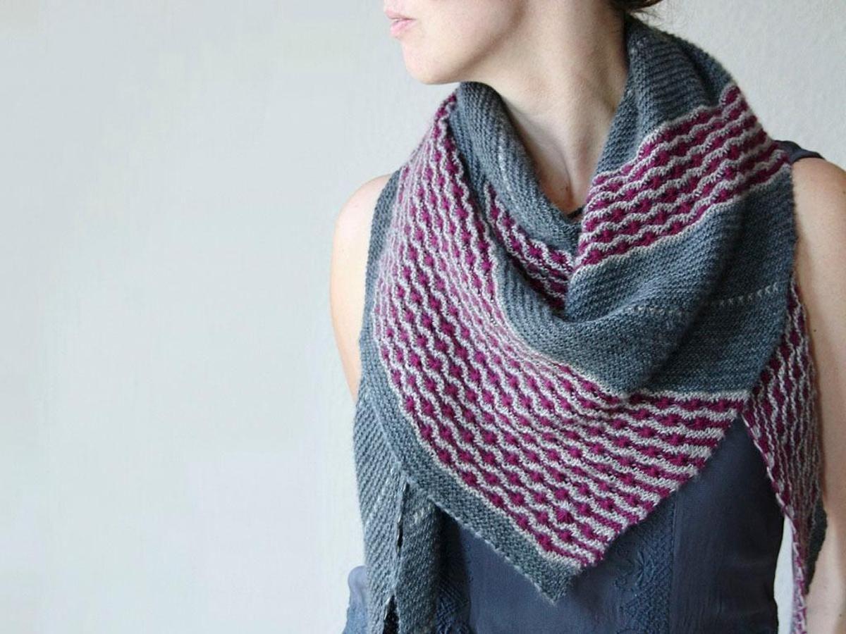 Picking Daisies Shawl Knitting Kit | Shawl, Knit crochet and Knit shawls