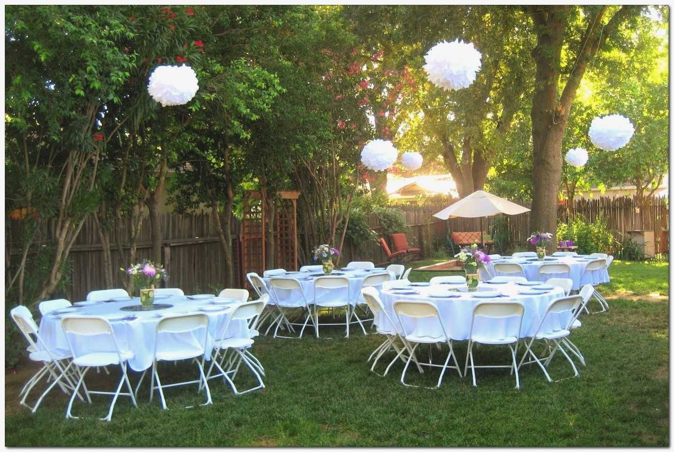 Backyard Graduation Party Decorating Ideas Best Of Simple