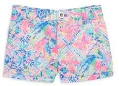 bb76eed0ca590d Lilly Pulitzer Toddler's, Little Girl's & Girl's Mini Callahan Shorts