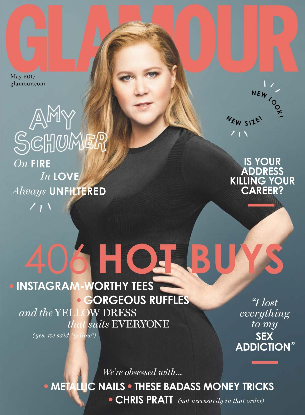 AmySchumer, #Glamour, #Magazine Amy Schumer - Glamour Magazine UK ...