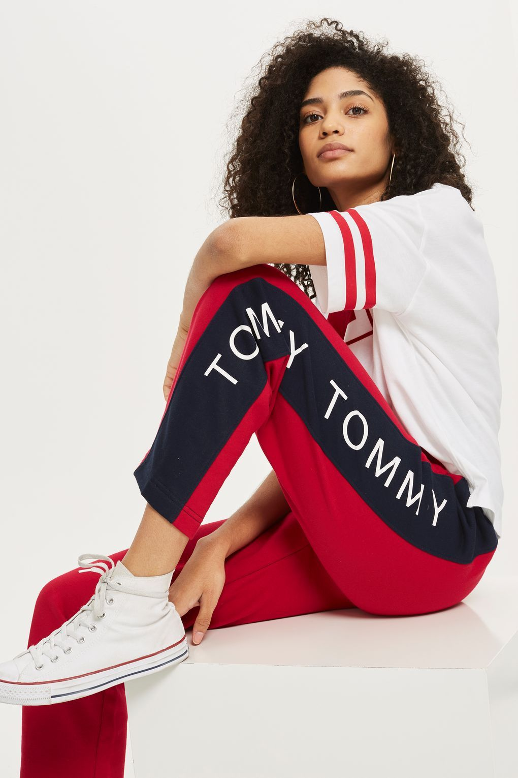 Straight Leg Jogging Bottoms by Tommy Jeans in 2019