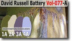 David Russell Battery Palette by Polymer Clay Tutor