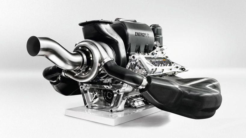 Renault F1 Presents 760 Horsepower 1 6l Turbocharged Power Units Renault Formula One Power Unit