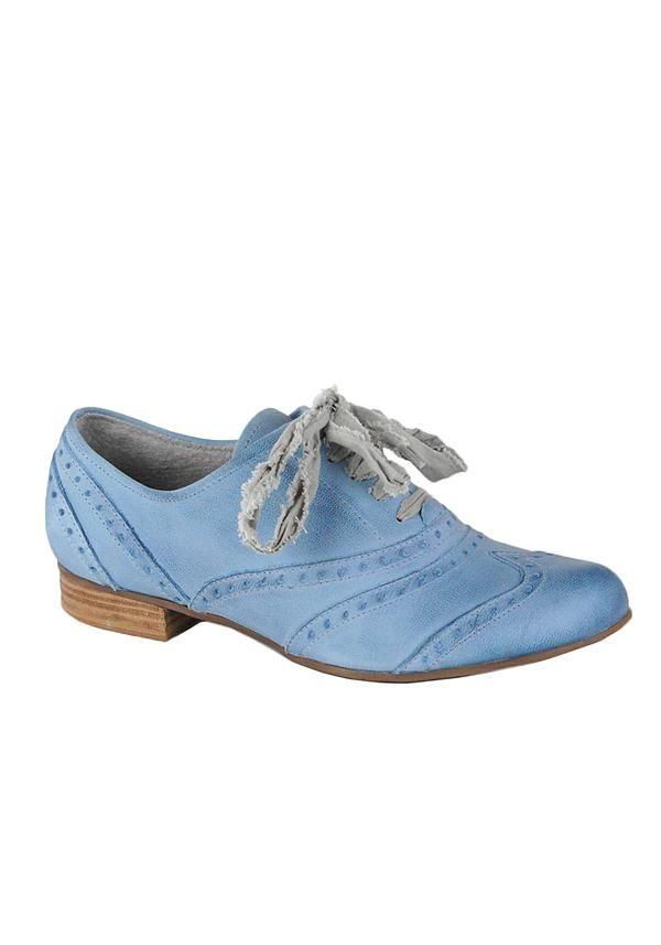 b62a6d1fcb30 Marco Tozzi Blue Lace Up Ladies Brogues