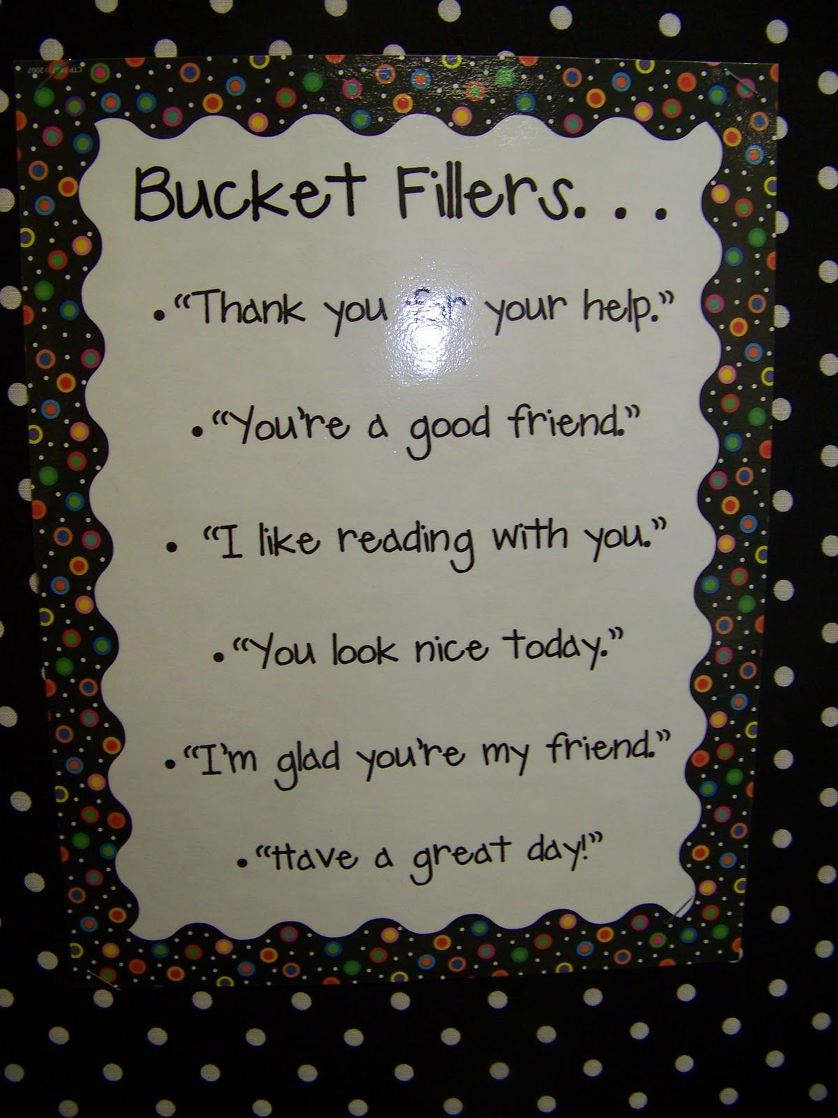 Ways To Fill Someone S Bucket
