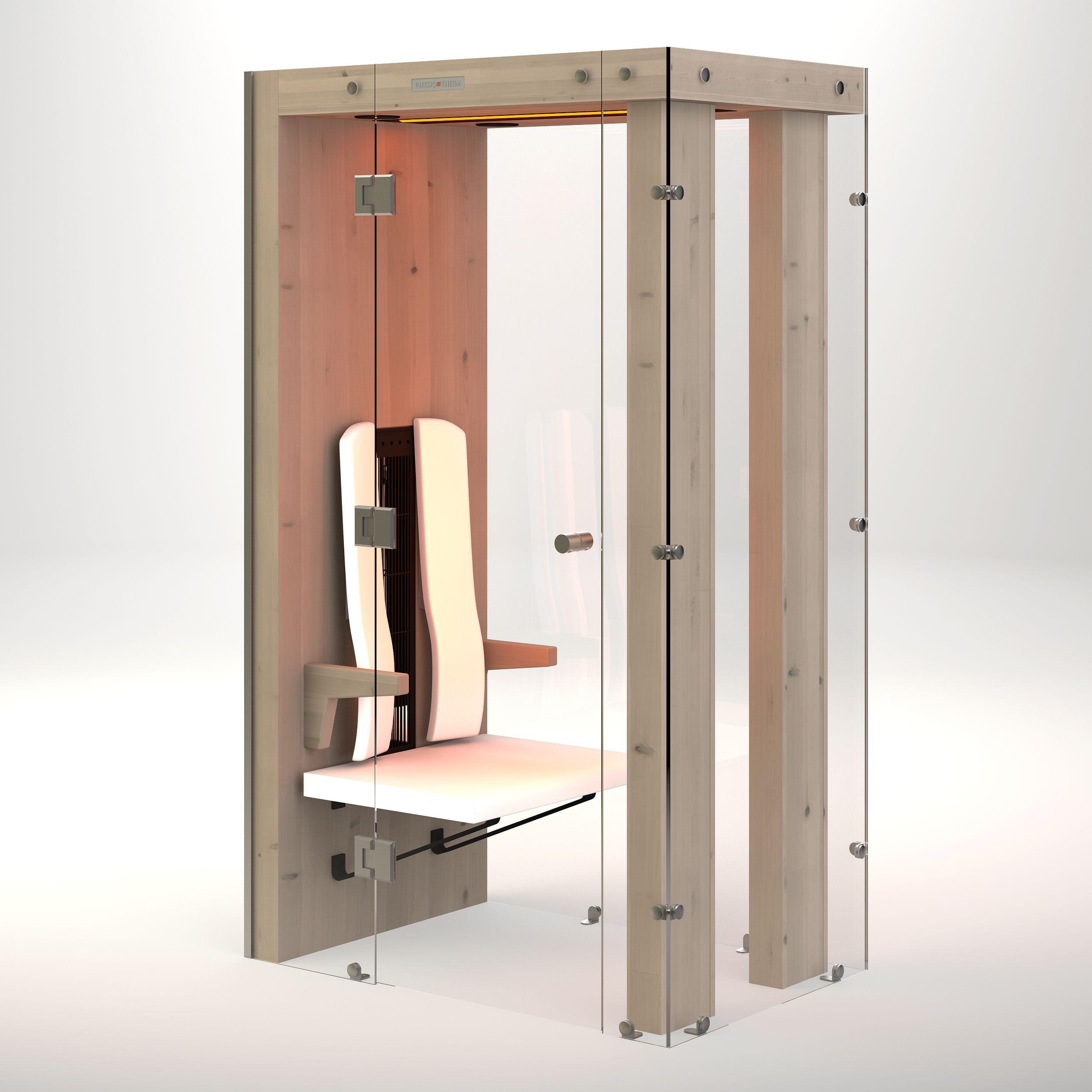 Ergo Integra I Infrarotkabine Kabine Kleine Sauna