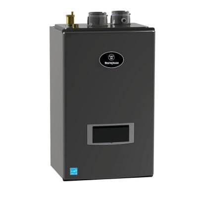 Westinghouse Condensing 95 1 Natural Gas Space Heating Wall Mount Boiler With Optional Domestic Hot Water With 199 000 Btu Input Wbrcng199w Gas Boiler Water Heating Water Boiler