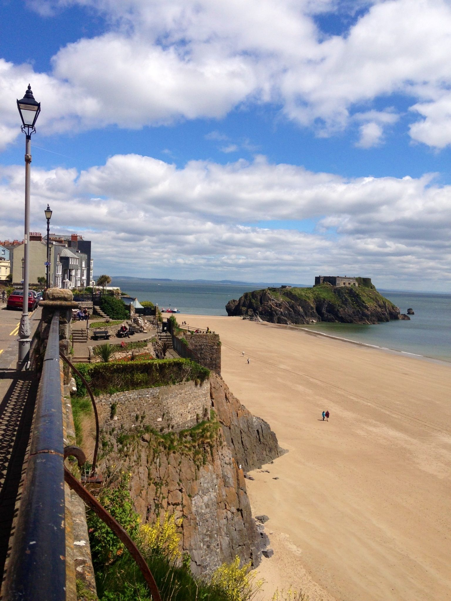 In Tenby Wales Popular Holiday