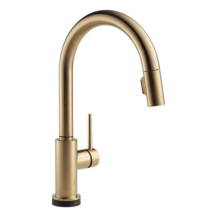 Delta 9159T-DST Trinsic Touch Kitchen Faucet with Pulldown Spray ...