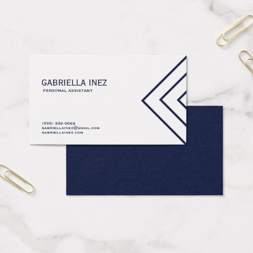 Womens personal assistant navy blue and white business card womens personal assistant navy blue and white business card colourmoves