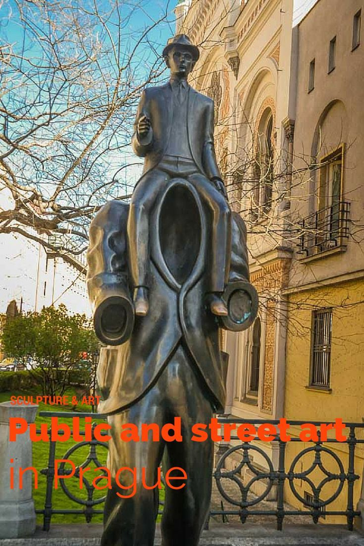 Prague's public art and street art is so engaging and really fascinating to explore. This is a highlight tour around the city visiting some of the unusual and popular public art around the city http://travelphotodiscovery.com/pragues-public-and-street-art-scene/
