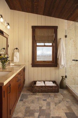 Swaback Partners cabin bathroom Home Pinterest Cabin