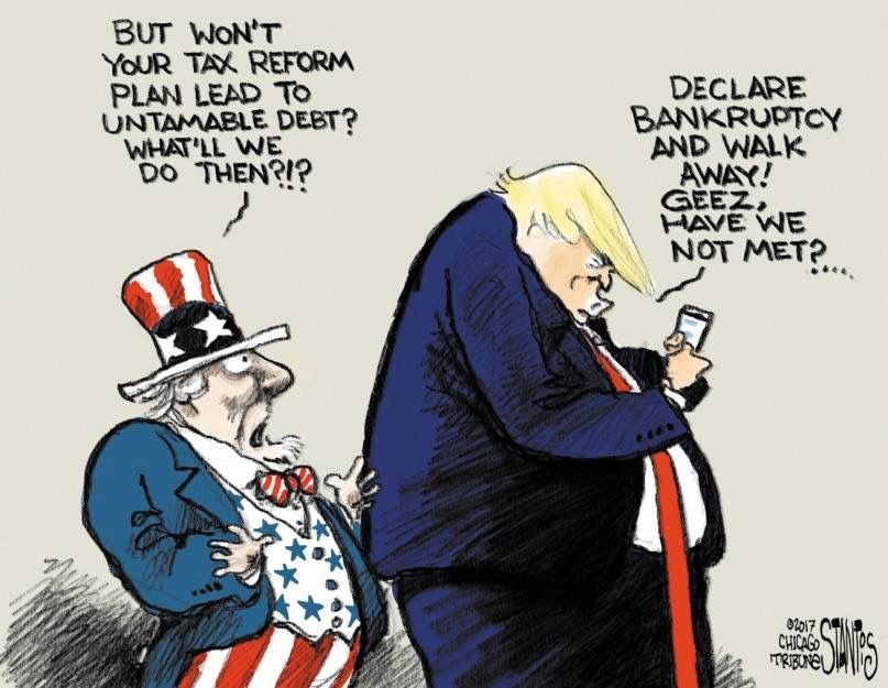 Image result for trump bankruptcy cartoons