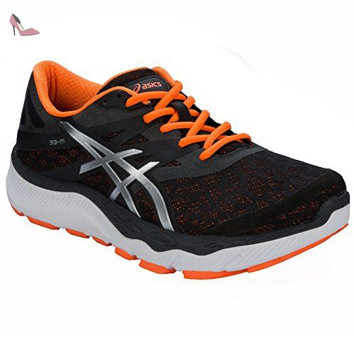 new concept 06d88 76a7d ... promo code for asics 33 m chaussures de sport homme noir negro argent  51208 8dabf