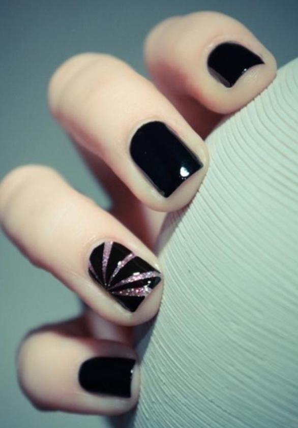 A Little Glitter   Nails   Pinterest