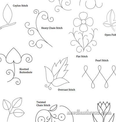 More Small Hand Embroidery Patterns Hand Embroidery Hand