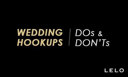 Dos and don ts of hookup