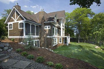 Rear Elevation - traditional - exterior - minneapolis - Stonewood, LLC