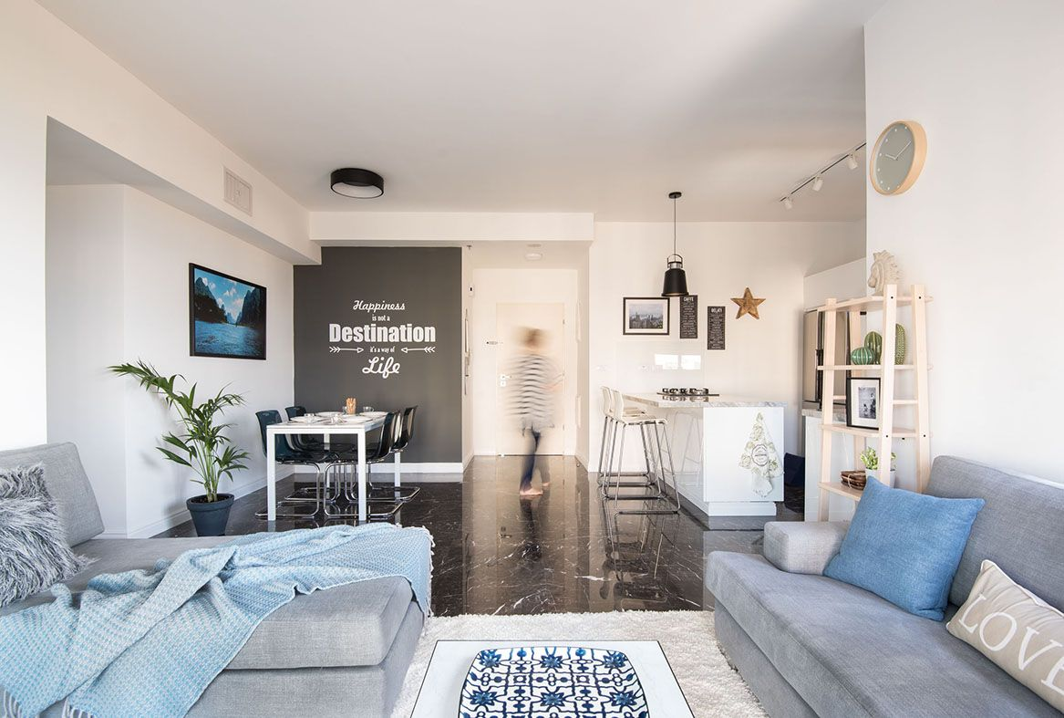 contemporary home styling and decor by Michal