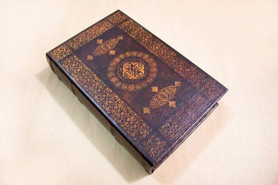 Vintage pattern book clutch book clutch by llMiddleOfNowherell