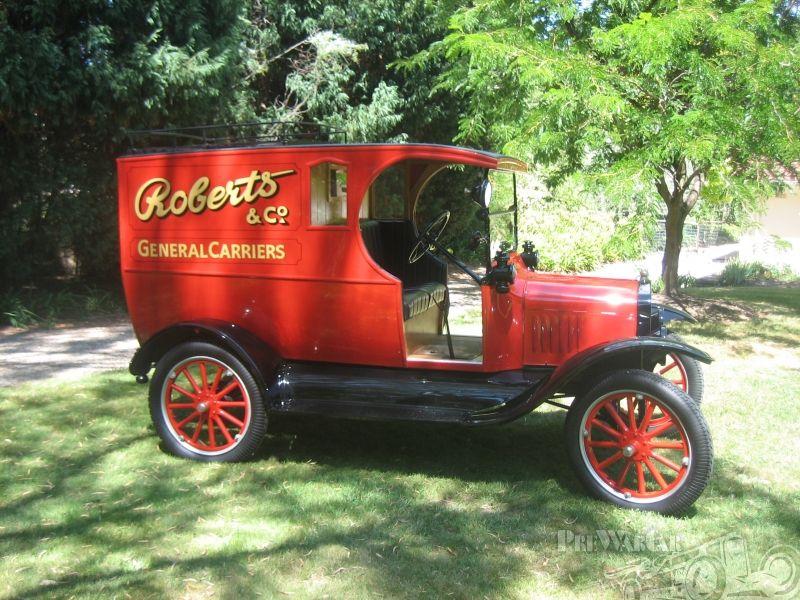Ford Model T Van 1918 For Sale Ford Models Model T Antique Trucks