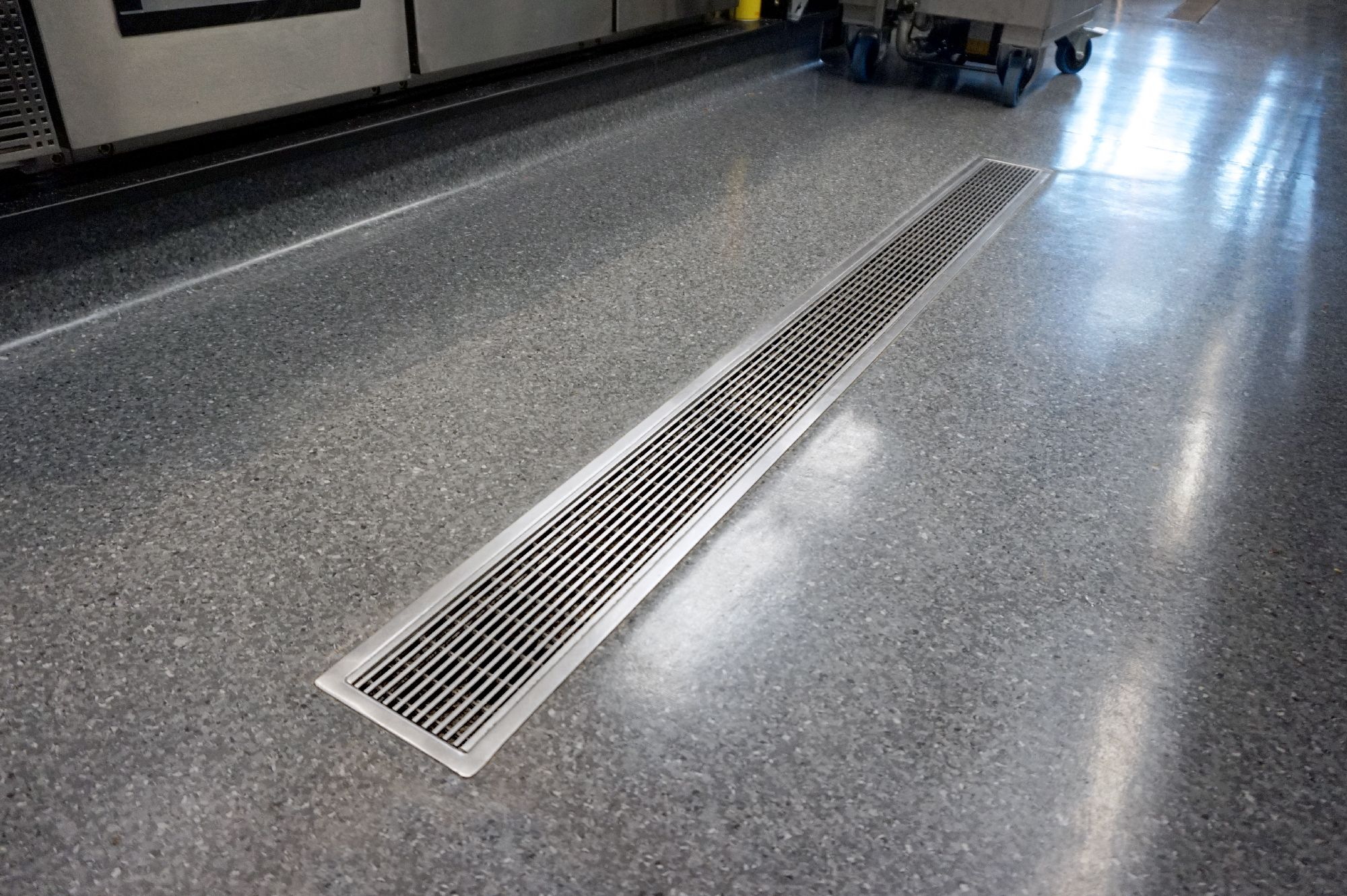 allproof vinyl clamp channel vcc commercial kitchen drainage rh pinterest nz