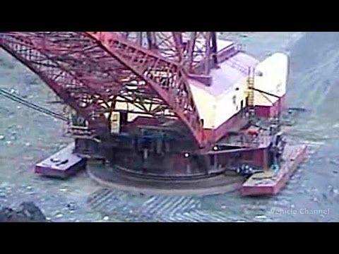 World S Largest Dragline Excavator Big Muskie Mega Machines In The World Excavator Heavy Machinery Big