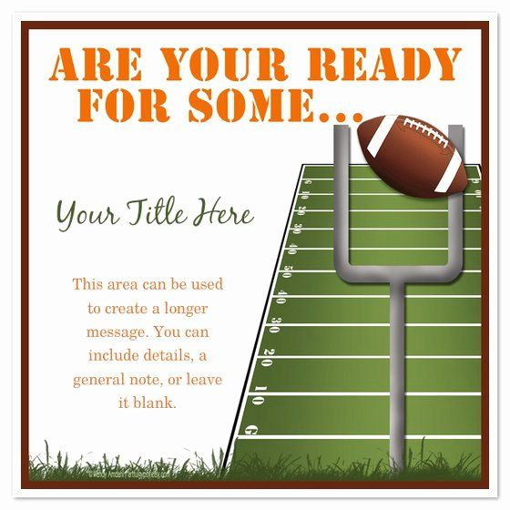 free football party invitations template inspirational