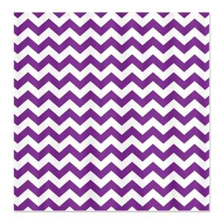 chevron pattern purple Shower Curtain | Chevron curtains, Purple ...