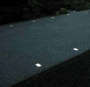 Solar Driveway Lights As Landscaping Part 03