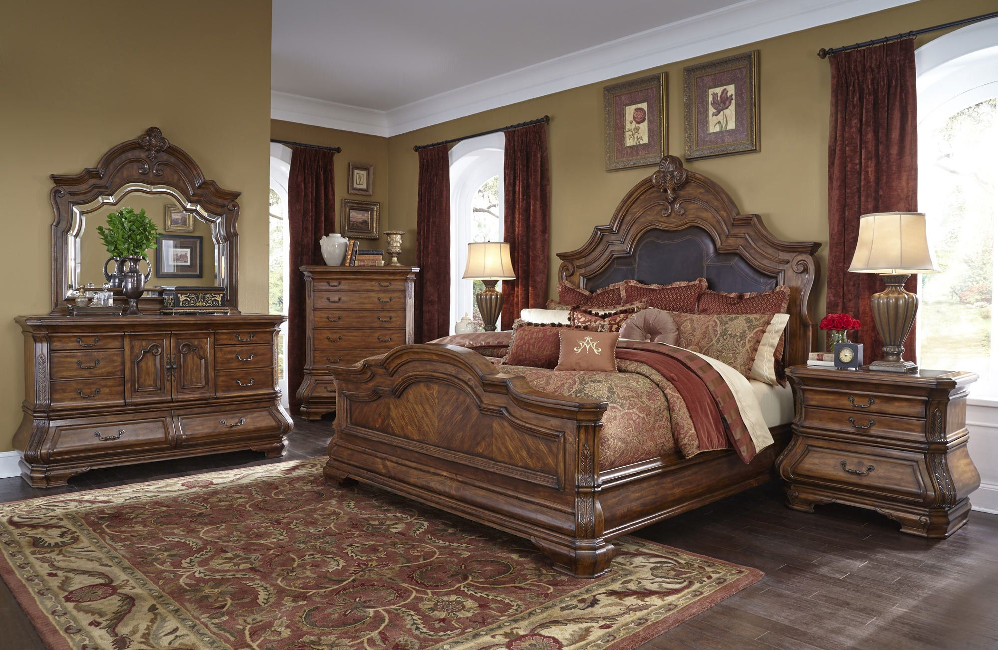 Tuscano Melange Mansion Bedroom Set Tuscano Melange