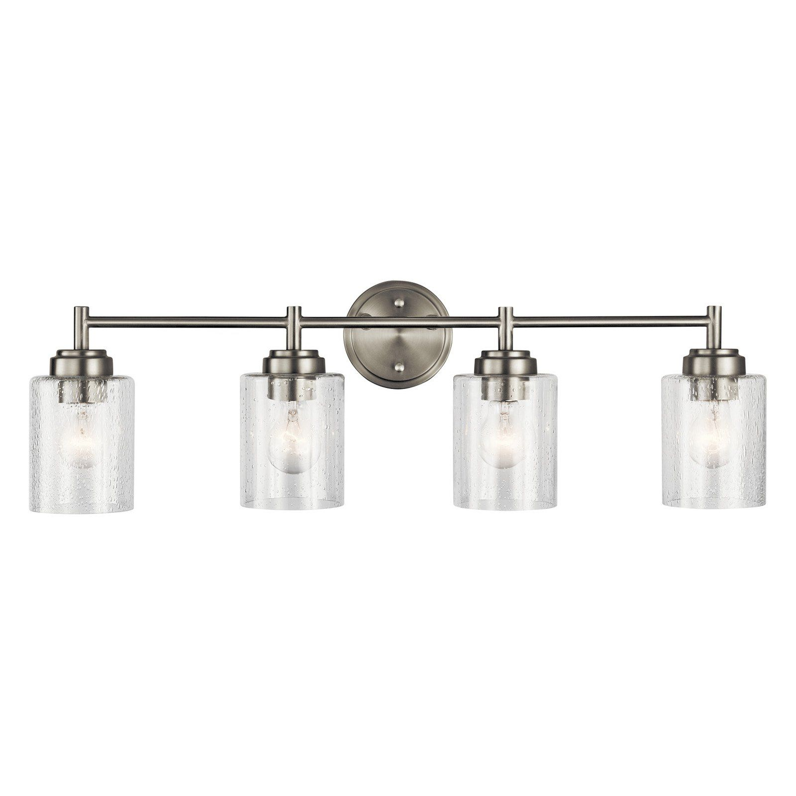 kichler winslow 45887 bathroom vanity light in 2019 products rh pinterest com