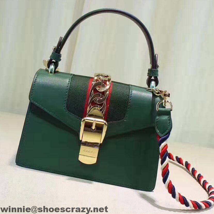 4f74273cb Gucci Sylvie Leather Mini Bag 470270 2017 | Gucci | Gucci sylvie bag ...
