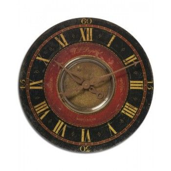 Black and Red Wall Clock Primitive Black⭐ Pinterest Red - Sweet Home D Meubles A Telecharger