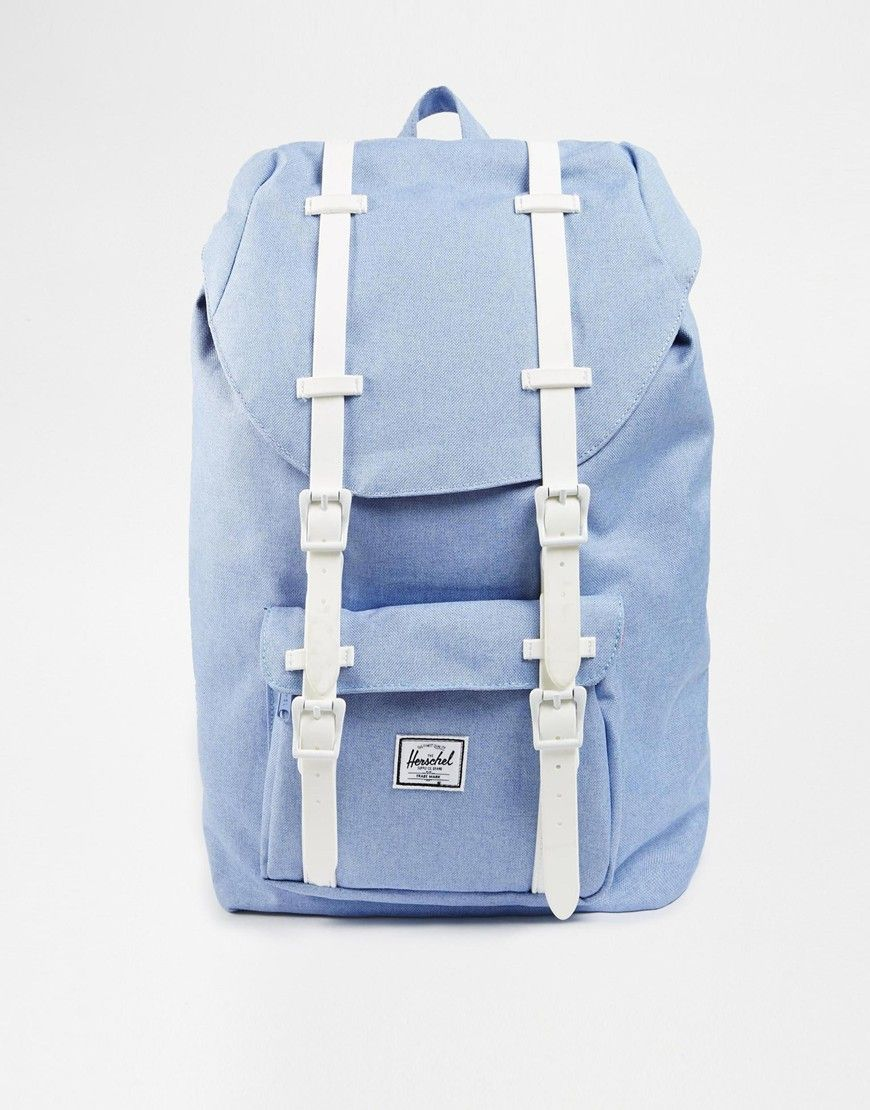 96e84ac87245 Image 1 of Herschel Supply Co Little America Backpack in Chambray Blue