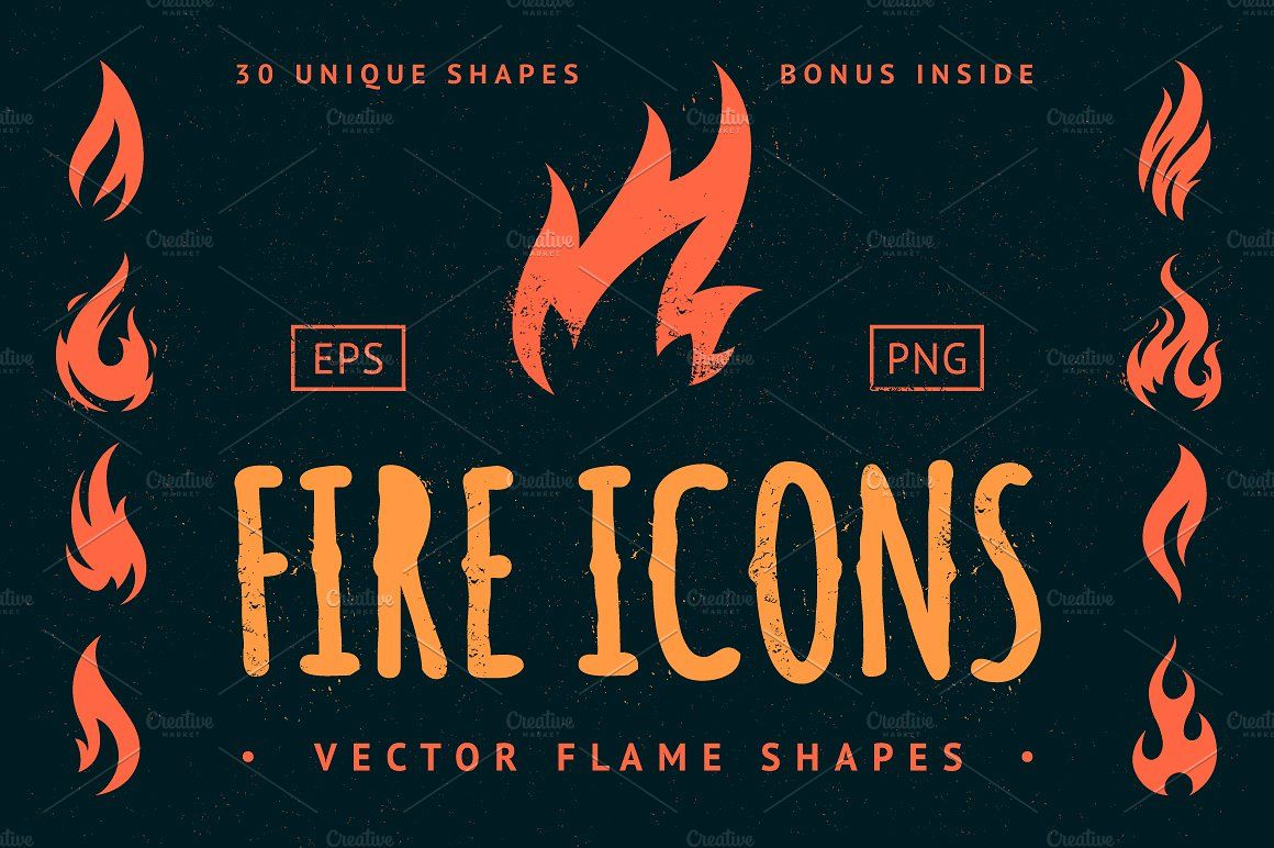 Vector Fire Icons Fire icons, Icon, Flame art