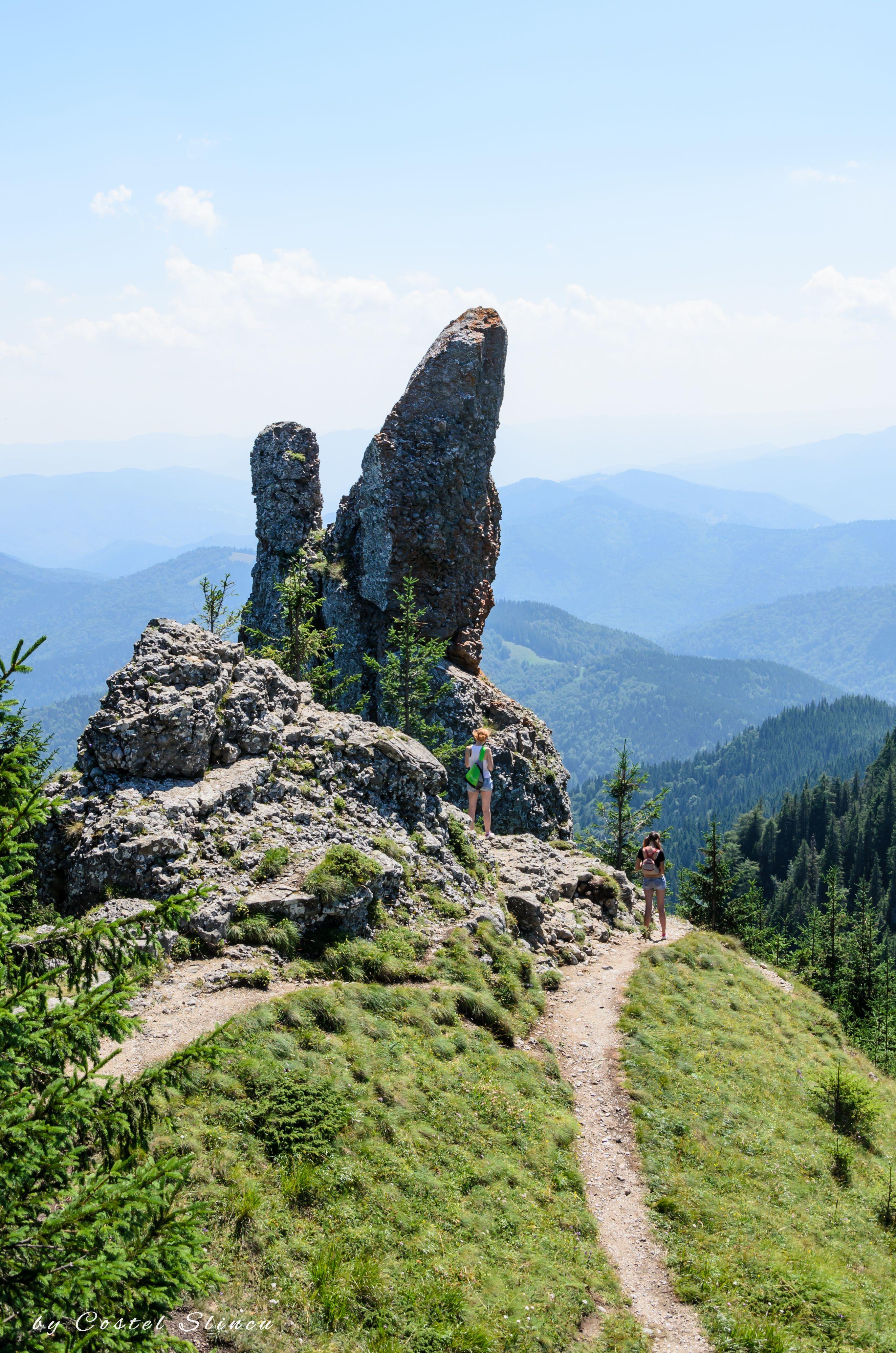 Ceahlau Mountains. Căciula Dorobanțului