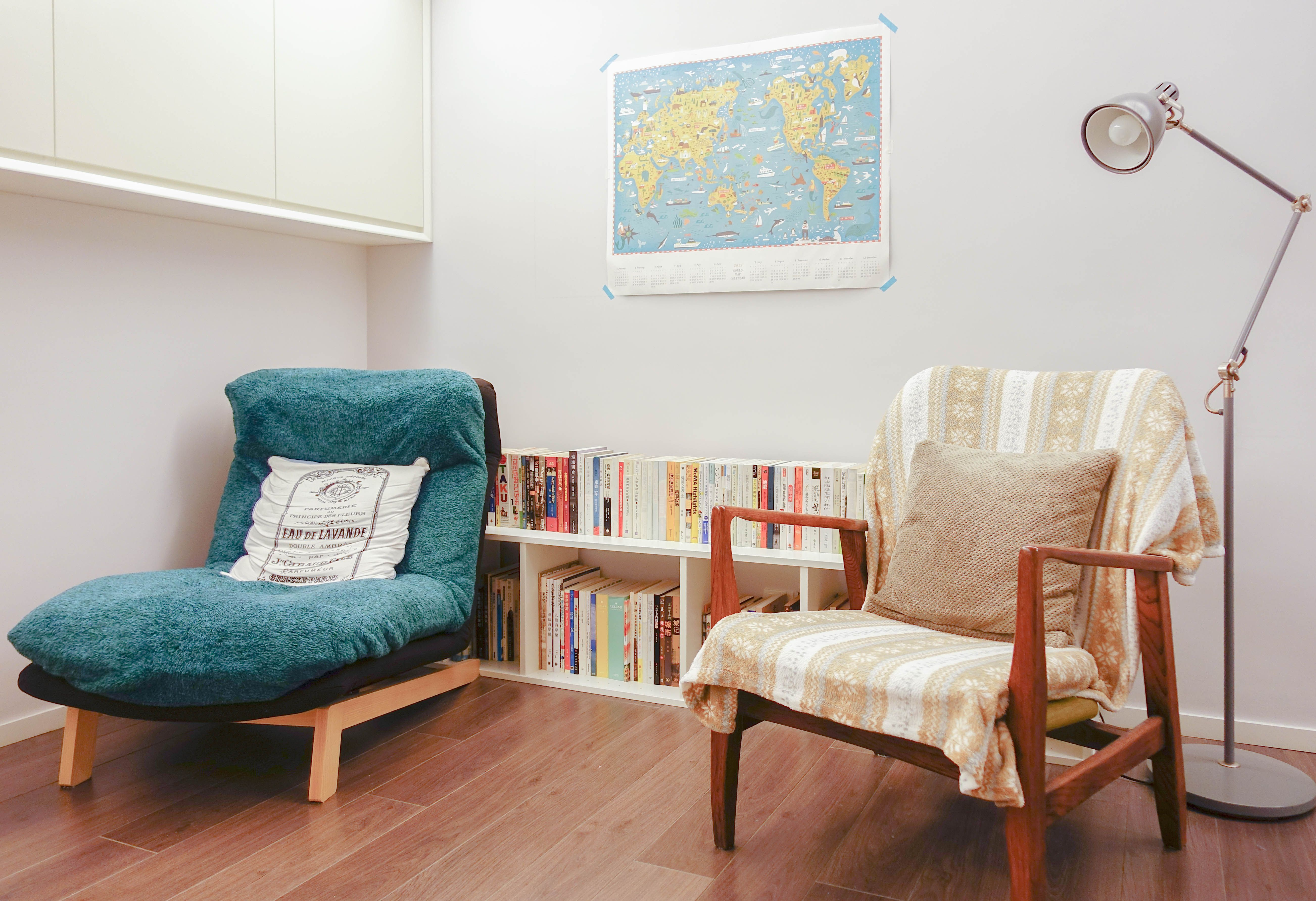 Woonkamer Van Muji : Muji armchair nikoand blanklet franc franc cushion ikea