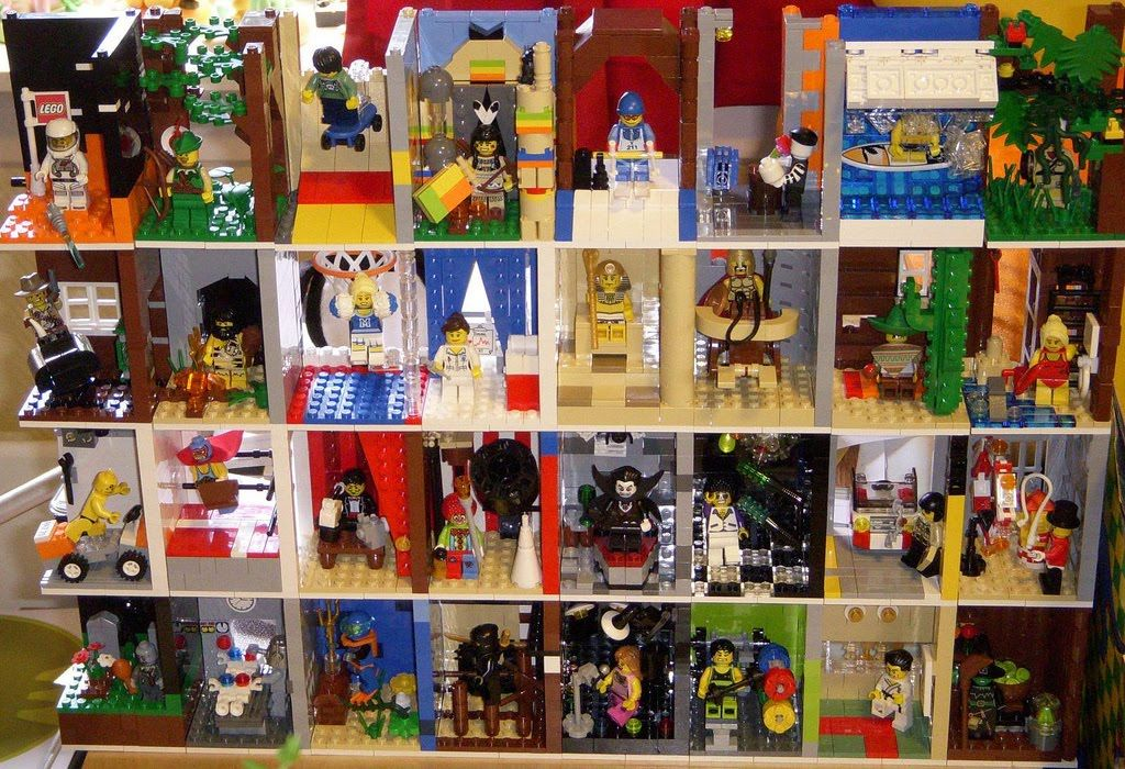 ways to display lego minifigures this is one of the best moc rh pinterest com