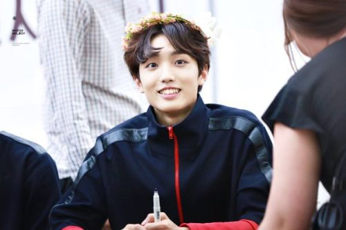 150926 UP10TION COEX FansigningSunyoulCr:  WinterMelody 윈터멘로디  Do not edit