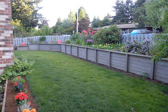 1000 Images About Retaining Walls On Pinterest Paper Couple And Wood Retaining  Wall