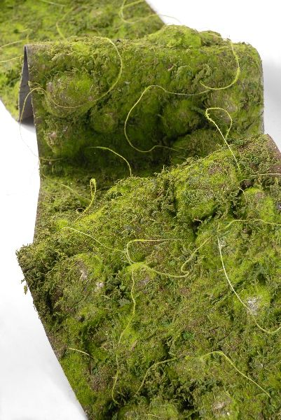 Faux Moss Table Runner. This Is Interesting To Me For All The Other Ways It  Could Be Used. Not So Much For The Center Of My Dining Table.