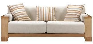 White Leather Sofa Image result for wooden sofas