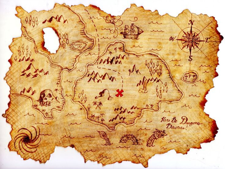 Keywords Kids Pirate Map Wallpaper And Tags 12801024