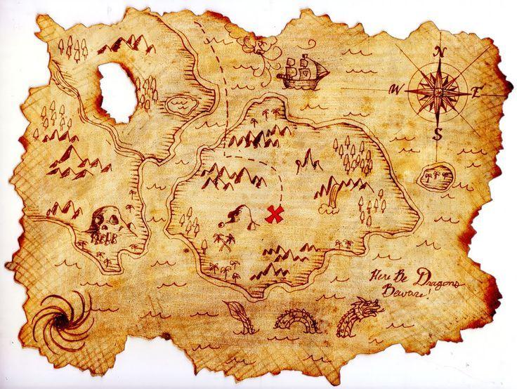 Old Treasure Map Wallpaper Keywords Kids Pirate M...