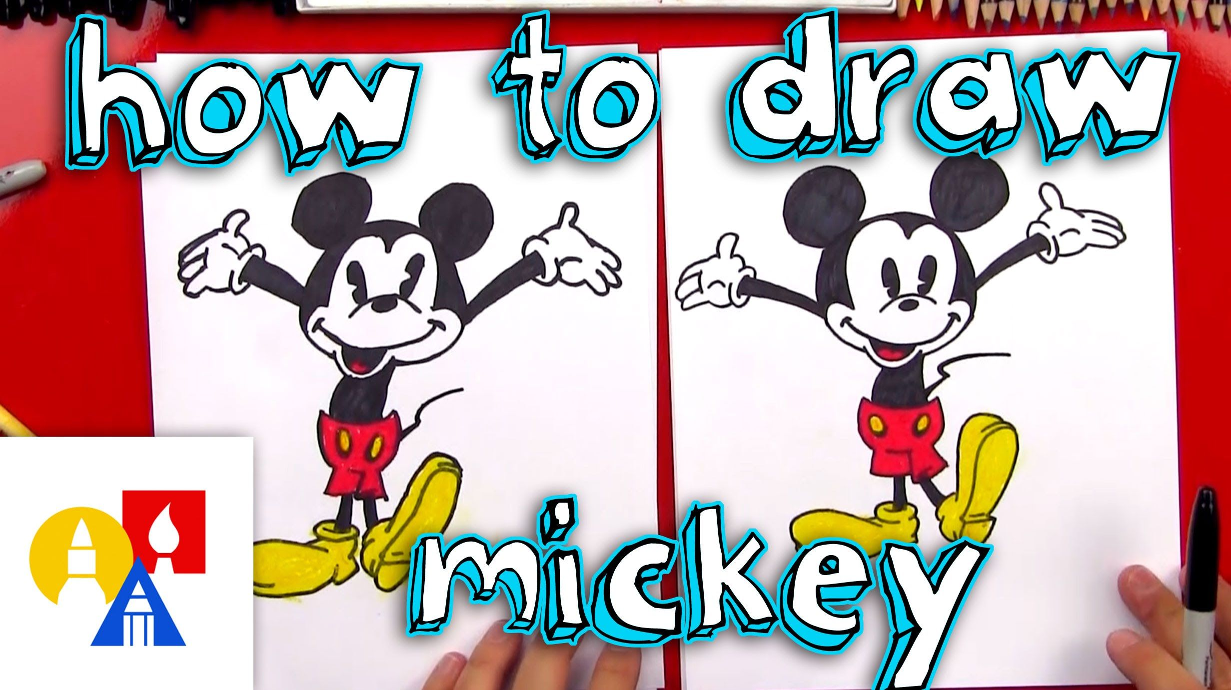 how to draw mickey mouse new art giveaway win class pinterest rh pinterest com art hub how to draw a haunted house art hub how to draw a christmas tree