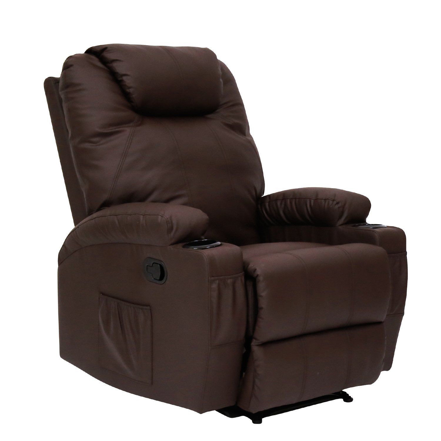 peach tree recliner massage sofa chair deluxe ergonomic lounge couch rh pinterest com