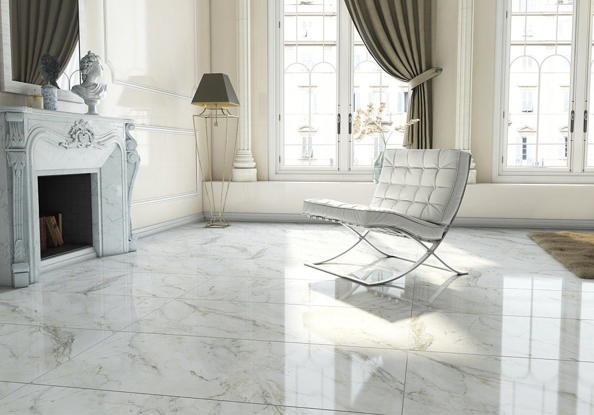 Anderson White Polished Floor Tiles Floor Tile Design Tile